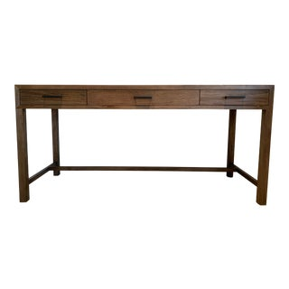 Contemporary Crate and Barrel Home Office Writing Desk For Sale