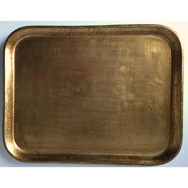Italian Gilt Wood Serving Tray - Image 2 of 5