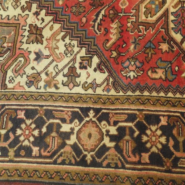 "Persian Heriz Rug - 6'9"" x 4'9"" - Image 4 of 5"