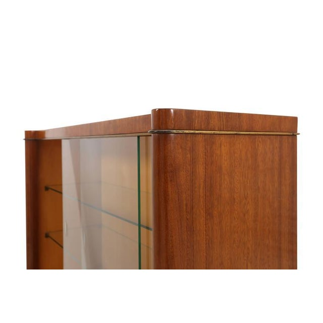 Art Deco De Coene Frères Vitrine Cabinet For Sale - Image 3 of 6