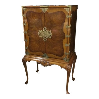 Karges Queen Anne Cabinet on Stand For Sale