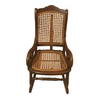 Vintage Children's Amish Rocker Chair For Sale