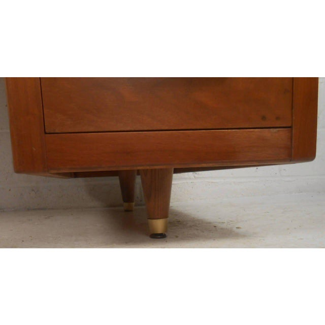 John Widdicomb Mid-Century Finished Back Executive Desk - Image 2 of 10