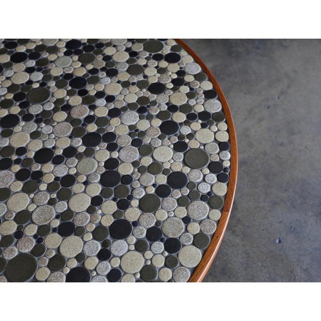 Mid 20th Century Jane & Gordon Martz Ceramic Tile Coffee Table for Marshall Studios, Circa 1960 For Sale - Image 5 of 11