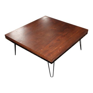 1960s Vintage Mid Century Coffee Table For Sale