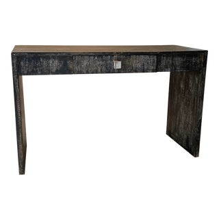 1970s Waterfall Style Console Table For Sale