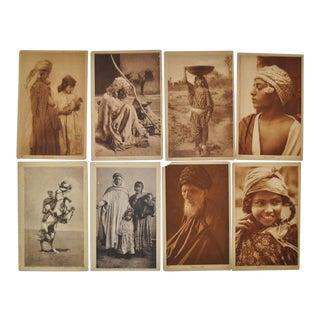 "Lehnert & Landrock ""Faces of North Africa"" Photo Cards- Set of 8 For Sale"