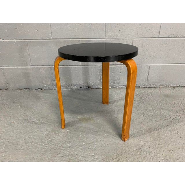 Alvar Aalto Birch Stool for Artek For Sale - Image 9 of 11