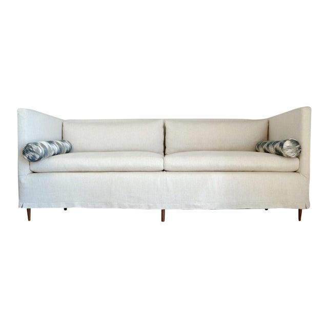 Benedict Modern Slipcovered Sofa