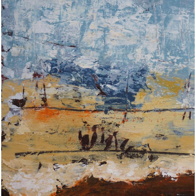 """Contemporary Laurie MacMillan """"Out of This World"""" Abstract Painting For Sale - Image 3 of 5"""