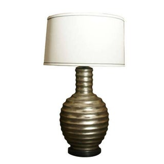 One Silvered Bee Hive Lamp For Sale