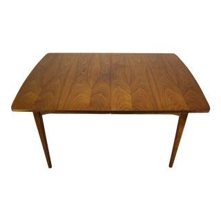 1960s Mid-Century Modern Kipp Stewart for Drexel Declaration Walnut Dining Table For Sale