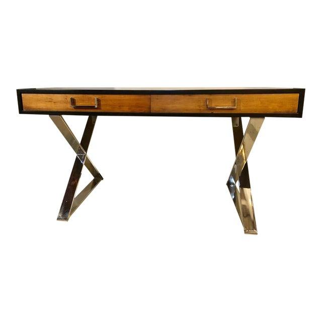 Mid-Century Modern Milo Baughman Vanity Desk For Sale
