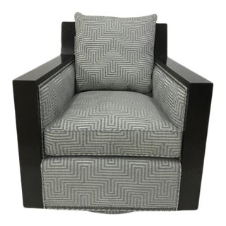 Century Furniture Murdock Swivel Chair For Sale
