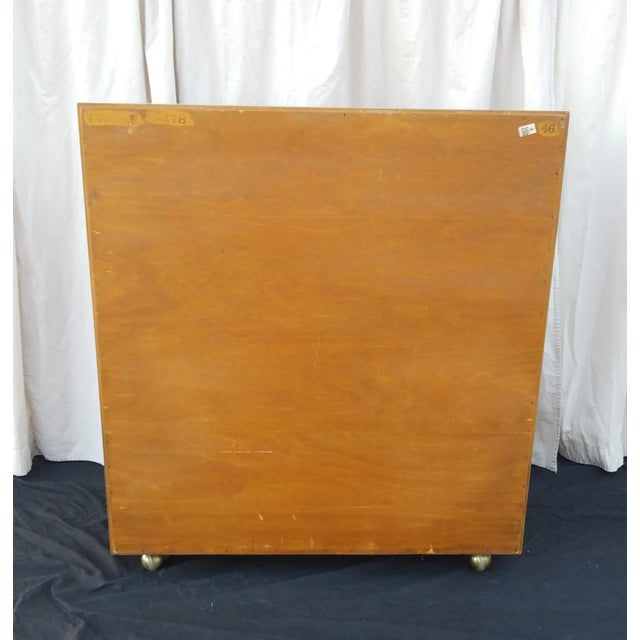 1950s Mid-Century Modern Paul Frankl for Johnson Furniture Co. Gentleman's Chest For Sale In Phoenix - Image 6 of 12