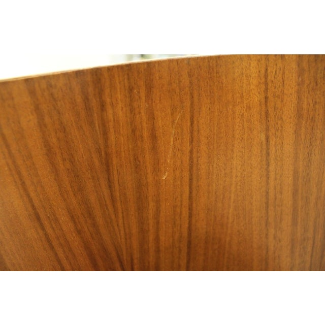 Mid-Century Danish Modern Walnut Stand/End Table - Image 8 of 11
