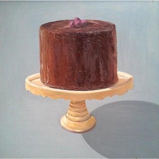 Chocolate Raspberry Cake Print by Paula McCarty Preview