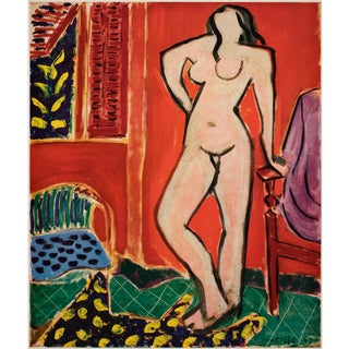 """Rare 1948 Matisse """"Standing Nude"""", First Edition Period French Lithograph for Verve For Sale"""