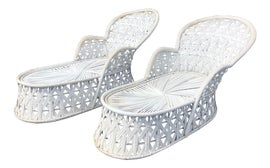 Image of Rattan Chaises