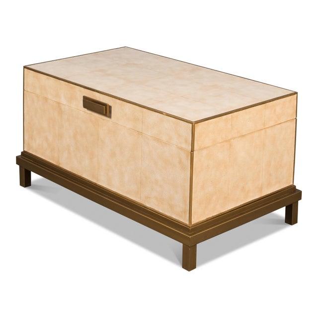 Beige Sarreid Milton Coffee Table For Sale - Image 8 of 8