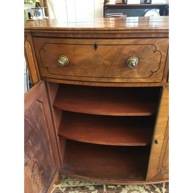 Late 19th Century Antique English Burled Satinwood and Walnut Cabinet For Sale - Image 4 of 9