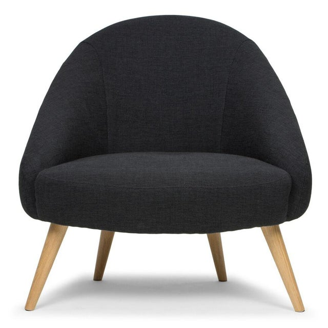 Sarreid LTD Black 'Billionaire' Chair - Image 4 of 6