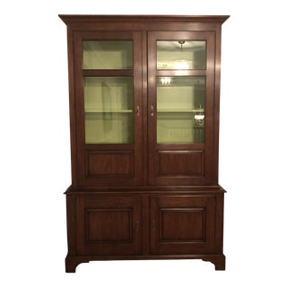 Henkel Harris Display Cabinet With Lighting For Sale