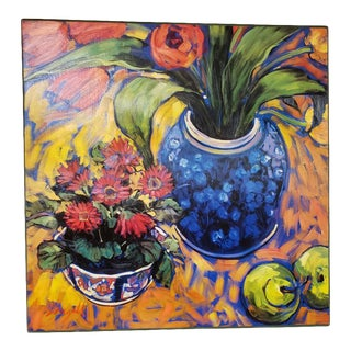 Contemporary Still Life Giclee Canvas by Jae Dougall For Sale