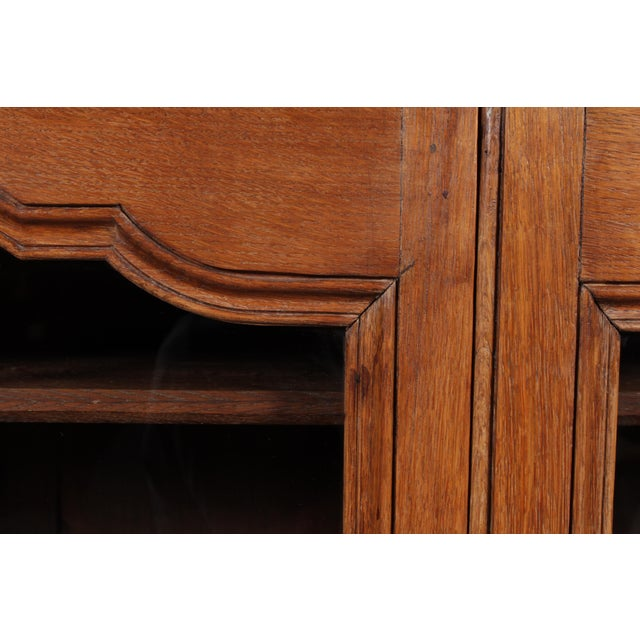 19th C. Louis XV Bookcase With Glass Doors - Image 6 of 9