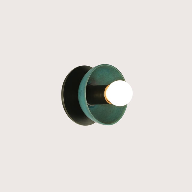 Aluminum Emmet Sconce Small by Pax Lighting For Sale - Image 7 of 7