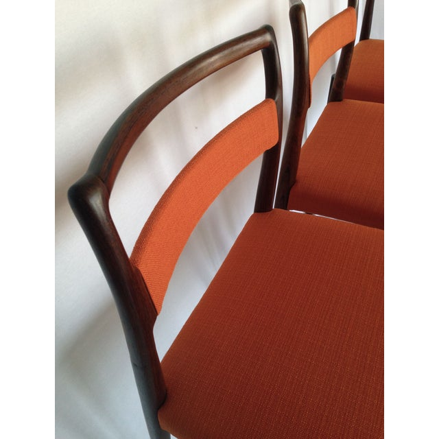 Mid-Century Rosewood Dining Chairs - Set of 8 - Image 8 of 10