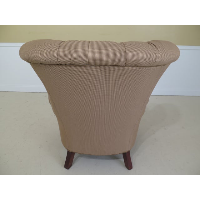 Lexington Nautica Tufted Back Upholstered Club Or Wing