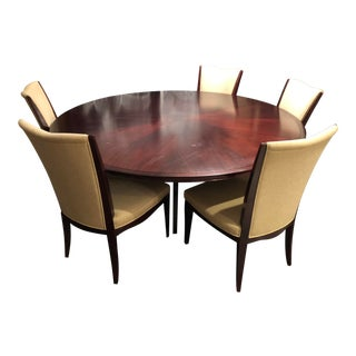 Barbara Barry Design Collection Round Dining Set for Baker For Sale