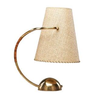 Carl Aubock Brass Lamp For Sale