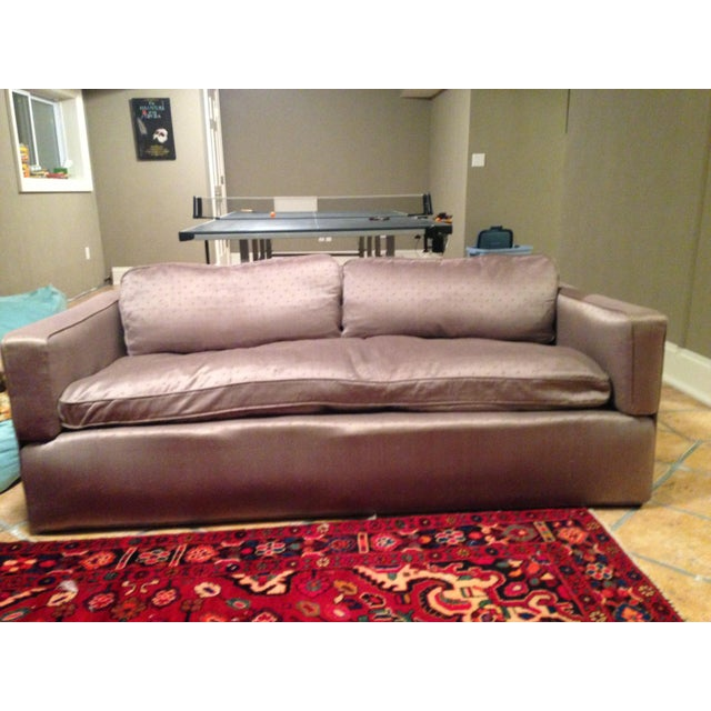 Down Filled Twin Size Sleeper Sofa - Image 11 of 11