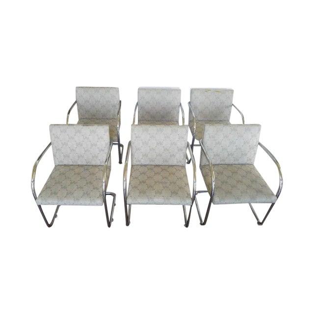 Tubular Knoll Brno Chairs- Set of 6 - Image 1 of 7