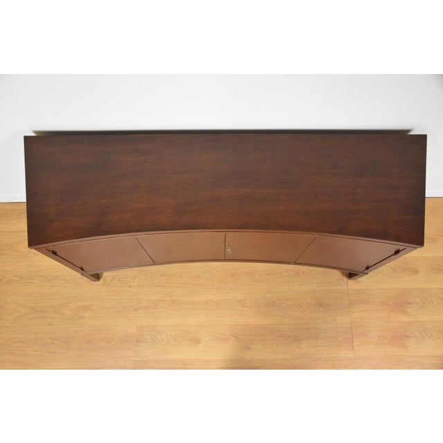 Edward Wormley for Dunbar Curved Credenza - Image 7 of 11