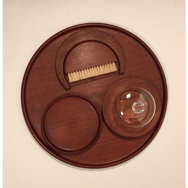 Danish Modern Set of Teak Table Accessories by Kay Bojesen For Sale - Image 3 of 4