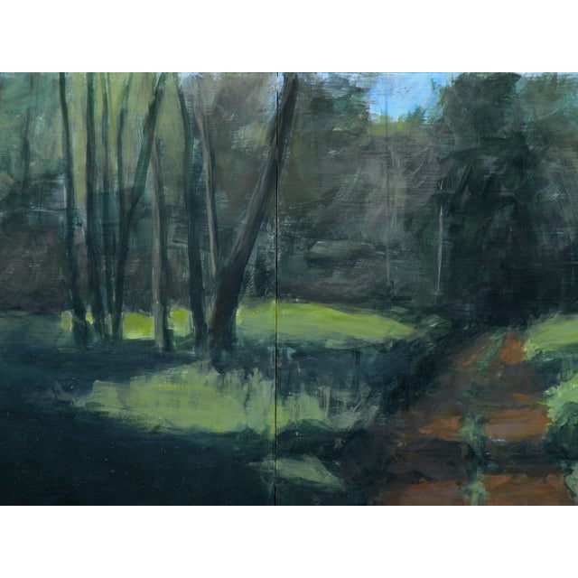 Original Painting - Old Road In The Woods - Image 3 of 3