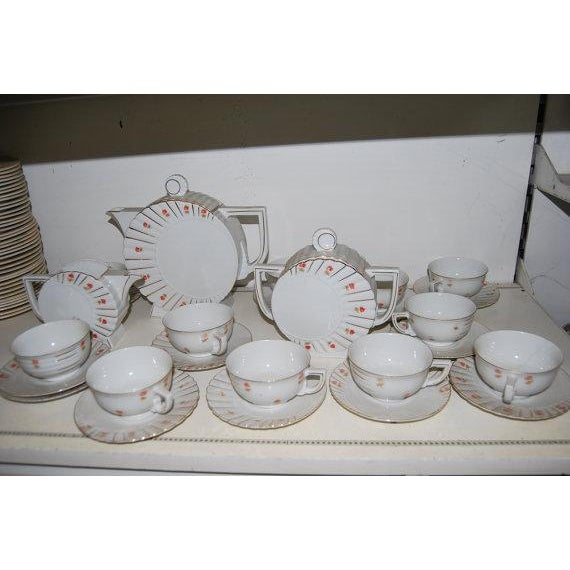 Deco Tea Set from Czechoslovakia - Image 2 of 6
