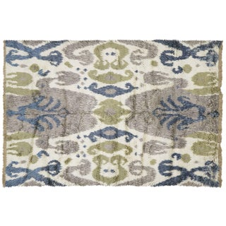 "Nalbandian - Contemporary Egyptian Tulu Rug - 6'7"" X 9'8"" For Sale"