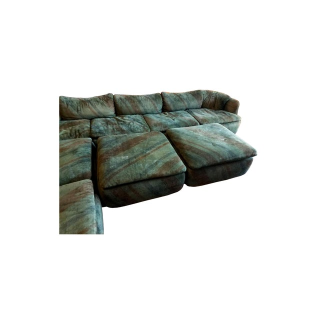 "Saporiti ""Confidential"" Sectional Sofa by Alberto Rosselli For Sale - Image 4 of 6"