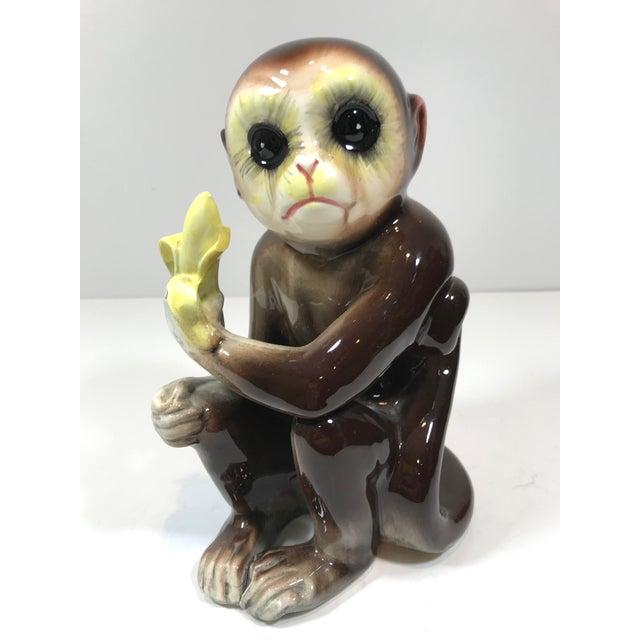 Mid-Century Tilso Ceramic Monkey Figurine For Sale - Image 10 of 10