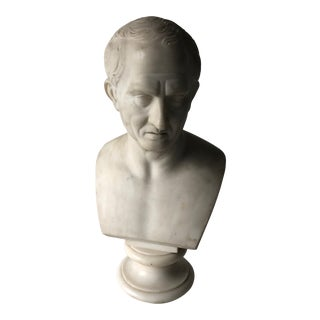 19th Century Marble Bust Sculpture For Sale