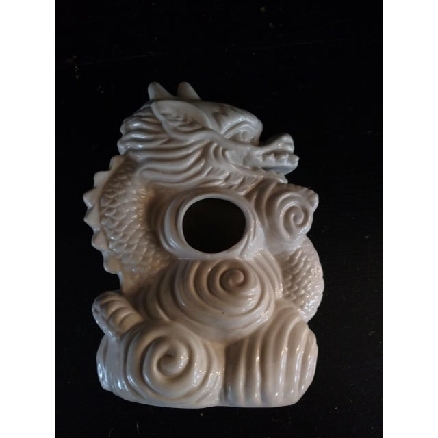 Blanc De Chine Dragon Vase For Sale - Image 4 of 6