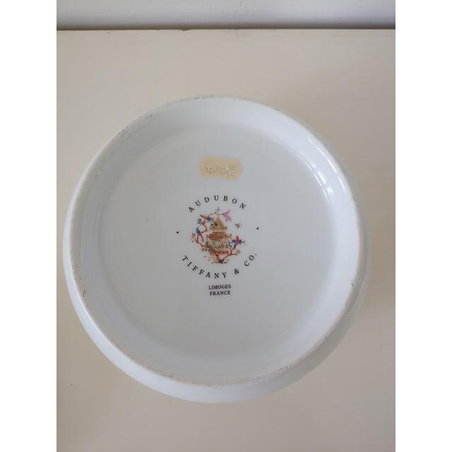 Ceramic 1990s Tiffany Audubon Soup Tureen For Sale - Image 7 of 9
