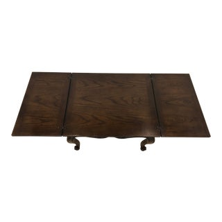 Vintage French Country Henredon Hinged Coffee Table For Sale