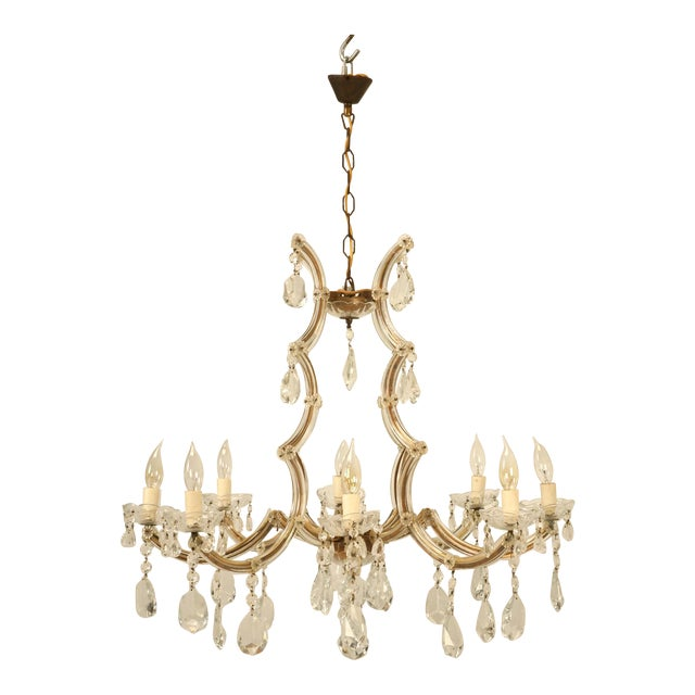 High end spanish chandelier in a baroque style circa 1930s decaso spanish chandelier in a baroque style circa 1930s image 1 of 10 mozeypictures Choice Image