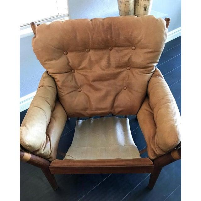1960s John Mortensen for Magnus Olesen Model 4521 Lounge Chair For Sale In Las Vegas - Image 6 of 10