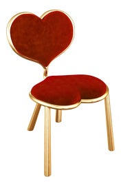 Image of Burgundy Side Chairs
